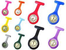 Colore Silicone Infermiere Dottori Paramedico Tunica Spilla Fob Watch Medico