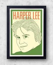 Harper Lee stampa! il buio oltre la siepe, vai a preparare un guardiano, POSTER, Americano