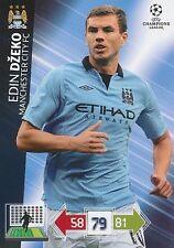 DZEKO # BOSNIA MANCHESTER CITY.FC CHAMPIONS LEAGUE TRADING CARDS 2013