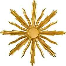 Aureola Raggiera In Legno Oro Zecchino Per Statua   Halo, Rays Wooden Gold Leaf