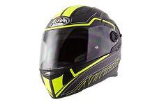 AIROH MOVEMENT-S Faster Yellow Matt Sun Visor Motorbike Helmet Pinlock Included