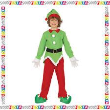 Costume Elfo Natività Vestito di Carnevale da Folletto Bambino Ragazzi  Cod.41727 44aa23a23455