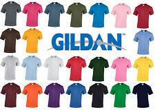 5 Pack New Llano Blanco Gildan G5000 100% Heavy Cotton T-Shirt