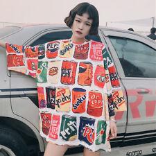 Japanese Harajuku Ulzzang Vintage Sweet Lolita Loose Short Sleeve T-Shirt Tops