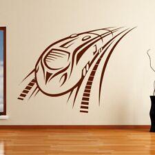 Speeding Intercity Train Wall Art Sticker (AS10134)