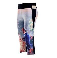 Women 7 point legging Beauty and the Beast Printed Leggings Pocket legging S-4XL