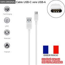 Cable USB-C (Type C) 3.1 vers USB Cable réversible pour chargeur, données