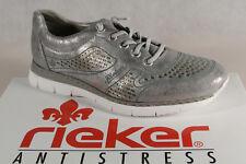 Rieker Slipper Sneakers Halbschuhe Sportschuhe Ballerina silbergrauNEU!