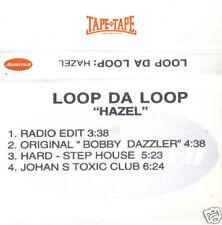 LOOP DA LOOP - Hazel (UK 4 Tk Studio/Media Cassette Single)