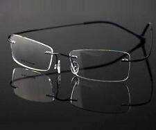 Men Rimless Titanium glasses optical frames Eyeglass Eyewear frames