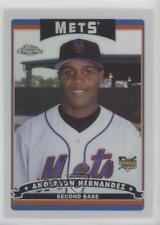 2006 Topps Chrome Refractor #289 Anderson Hernandez New York Mets Baseball Card