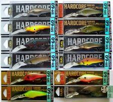Duel Hardcore Shad SH-60 Fishing, Japan Wobbler, Bait, Predators, Pike, Perch