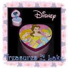 New Disney Princess Musical Music Jewelry Box and Figurine