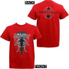 Authentic INQUISITION Mystical Blood Black Metal T-Shirt Red S M L XL 2XL NEW