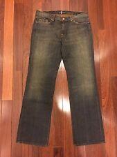 Brand New Men's 7 For All Mankind Bootcut Jeans Flynt pocket 36 38 40 Detroit