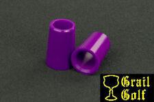 "NEW SUPER PREMIUM GOLF FERRULES .355 PURPLE COLORED IRON .79"" LENGTH .540OD LOT"