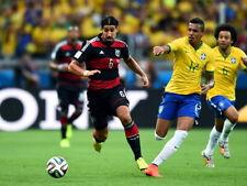 Sami Khedira Luiz Gustavo Germany Soccer Football Giant Wall Print POSTER