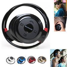 Neu Bluetooth Sport Kopfhörer Headsets ON Ear Wireless Stereo Ohrhörer MP3 Musik