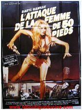 L'ATTAQUE DE LA FEMME DE 50 PIEDS Affiche Cinéma Poster DARYL HANNAH