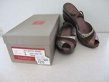 Women's sandal platform Cole Haan Nike Air Brown Snake size 9B used in box