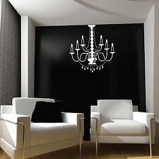 Groß Kronleuchter Licht, Lampe Wand Sticker / Wand Abziehbilder