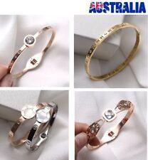 LOVE Bracelet 18K Rose Gold Titanium Stainless Steel Designer Bangle SG34