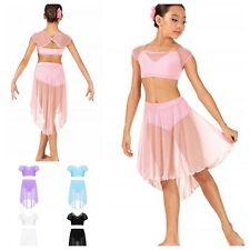 Show Costume,Contemporary Lyrical Dance Leotard,Competition,Festival.Modern .UK