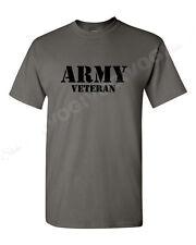 Army Veteran #2 T Shirt Soldier Veteran United States Tee Short Sleeve Military