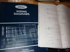 1995 FORD CARGO TRUCKS VANS WIRING DIAGRAMS SCHEMATICS SHEETS SET OEM