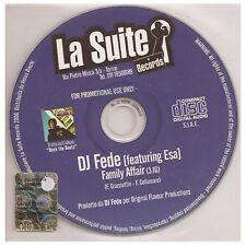 DJ FEDE feat ESA - FAMILY AFFAIR Cds PromO