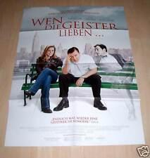 Filmposter A1 Neu Wen die Geister lieben... - Téa Leoni