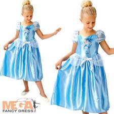 Fairytale Cinderella Girls Fancy Dress Disney Princess Book Week Childs Costume