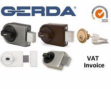 Gerda High Quality Surface Mounted Door Lock 4 Keys 4 Colours ZN200
