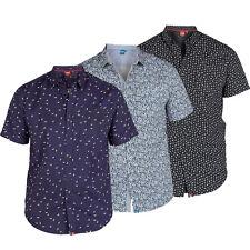 Duke RALPH, ROBUSTO & YATOMI Mens Designer S/Sleeve Shirt, 1XL 2XL 3XL 4XL