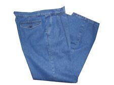 pantalone Jeans Uomo wampum Classico Vita Alta Con Zip invernale taglia 48 58