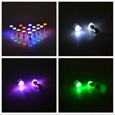 "leuchtende LED Ohrstecker ""Herz"" Ohrringe Ohrschmuck   in 9 Farben"
