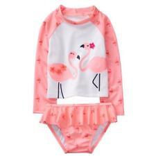 NWT Gymboree Rash Guard Flower Flamingo Toddler Girls UPF 50+ Many Sizes