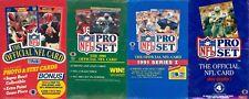 1989 1990 1991 1992 Pro Set ProSet NFL Football Cards, Fill Your Set! Pick 20