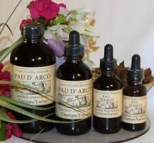 ~ PAU D' ARCO Bark Extract Candida Cleanse Yeast ORGANIC FOLK REMEDY TINCTURE ~