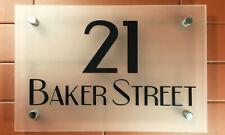 Acrilico Personalizzato numero Placca Con L'indirizzo TARGHETTA PER ABITAZIONE