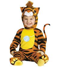 Costume Carnevale Bimbo Primi Mesi, Gatto Arancio *05444 Tigrato
