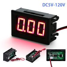 Golf Cart Club Car 24V 36v 48v 5-120 Volt Battery Gauge Digital Voltage Meter