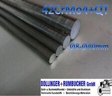Stahl vergütet Vergütungsstahl 42CrMo4 rund Ø 30 mm  *Länge bitte auswählen*