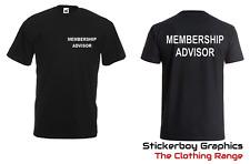 Membership Advisor T Shirt Gym Clothes PT David Lloyd Fiyness First  Running