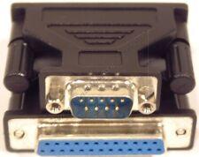Lot10 DB25pin Female Jack~DB9 Male Plug cable/cord Adapter RS232 Serial$SHdis{TN