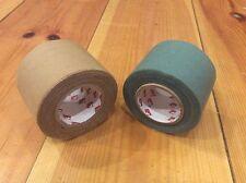 2 x rolls British Army Issue Scapa Sniper Repair Tape NATO Green 5cm x 10m Rolls