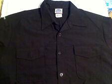 USN & United States Military Black & Navy Blue Shirts Jumper Tops Various Sizes