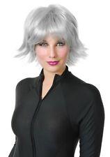 Silver Superhero Wig