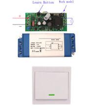 Home Lamp Light LED 110V 220V 250V Wireless Switch Lighting Wall Panel Control