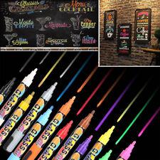 NEW 12 Colors Sets Fine Paint Oil Based Art Marker Pens Boxed Metal Glass-4.5mm
